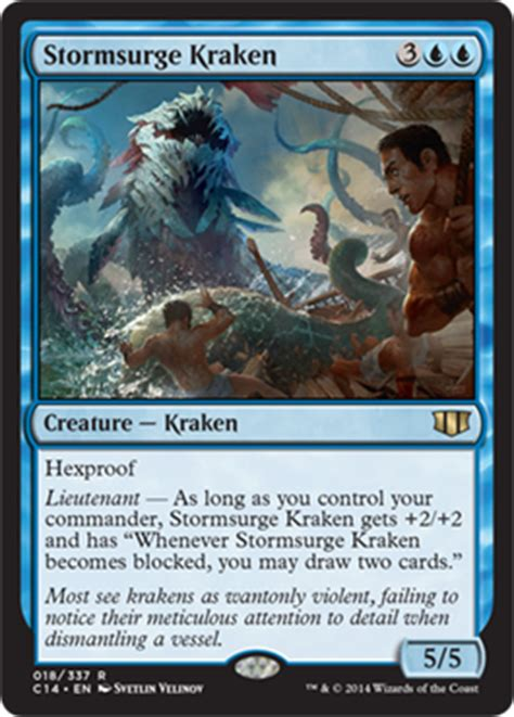 mtg shipbreaker kraken deck commander 2014 magic the gathering