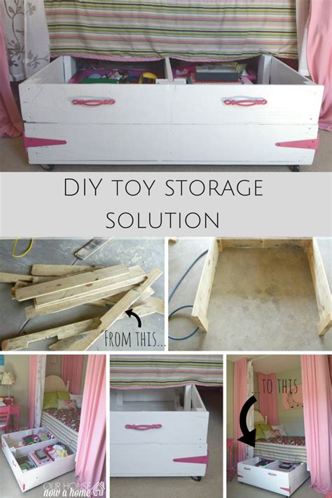 chest cooler diy wood pallet bed storage our house now a home