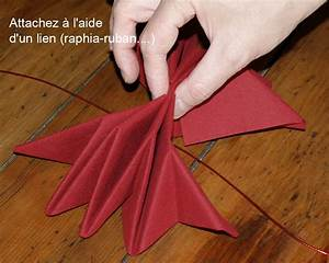Pliage Serviette En Papier Noel : 1000 images about pliages de serviettes on pinterest napkins origami and noel ~ Farleysfitness.com Idées de Décoration