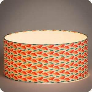 Abat Jour Vert : abat jour design pour lampe lampadaire ou suspension en tissu motif scandinave rouge vert tori ~ Teatrodelosmanantiales.com Idées de Décoration