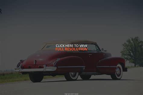 1942 Cadillac Series 62 Information And Photos Momentcar