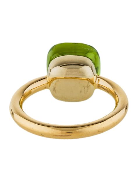 pomellato ring nudo pomellato 18k peridot nudo ring rings pom20737 the