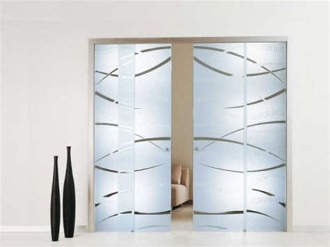 vasche da bagno doppie porte interne in vetro brugine