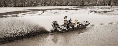 Best Duck Hunting Boat For Big Water by How To Choose The Right Duck Boat For You Wildfowl