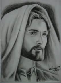Black Jesus Christ Pencil Drawings