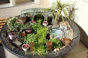 Colorful Lights For Your Room 33 Miniature Garden Designs Fairy Gardens Defining New