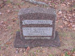 "Isabelle ""Belle"" McDonald (1890-1985) - Find A Grave Memorial"