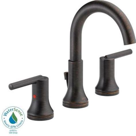 delta trinsic widespread bath faucet delta trinsic 8 in widespread 2 handle high arc bathroom