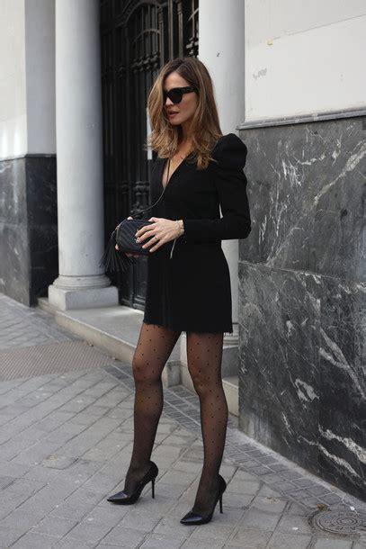 lady addict blogger hat blouse sweater ysl bag high