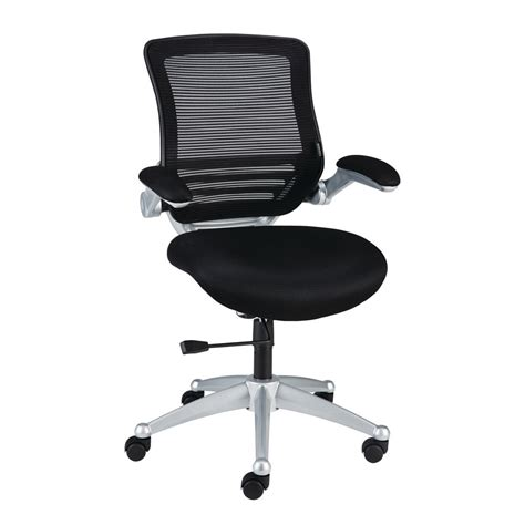 staples desk chair staples vadar mesh task chair black staples 174