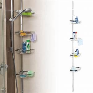 Etagere Angle Salle De Bain Telescopique : classement guide d achat top tag res pour salle de bain en avr 2018 ~ Melissatoandfro.com Idées de Décoration