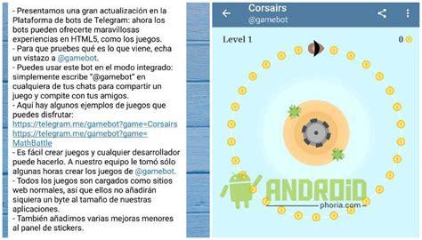 descargar telegram apk para android juegos