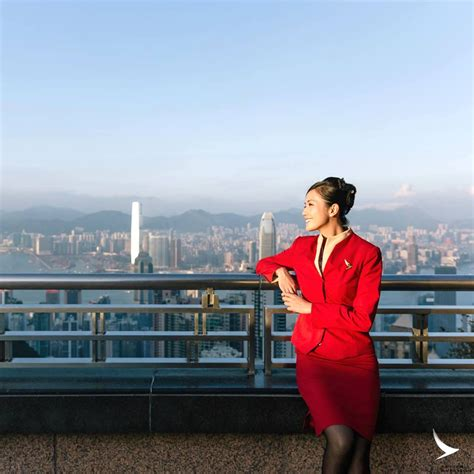 description of cabin crew cathay pacific airways experienced flight attendant hong