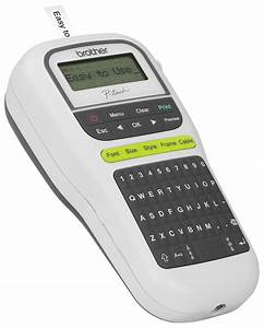 ptouch durable label maker white pth110 labelling With brand label maker