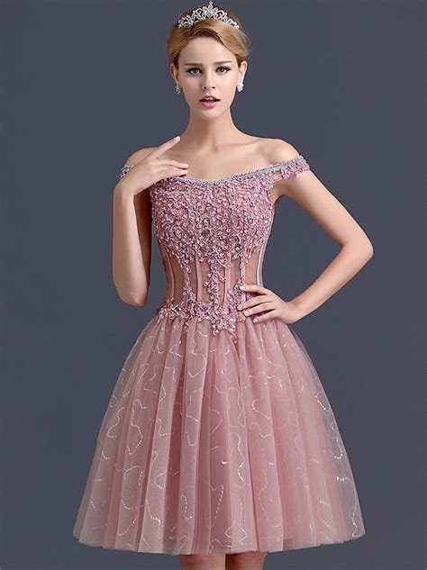 Short Formal Or Cocktail Dresses  Eligent Prom Dresses