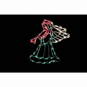 Northlight, 18, In, Lighted, Angel, Christmas, Window, Silhouette, Decoration-32605983