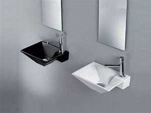 Lave Main Rectangulaire : lave mains rectangulaire suspendu clessidra by a e t ~ Premium-room.com Idées de Décoration