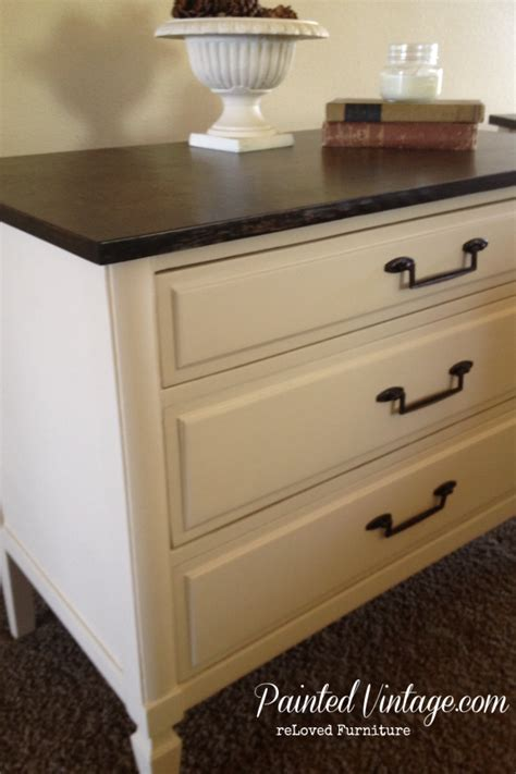 Colored Nightstands by Reloved Two Toned Nightstands Painted Vintage