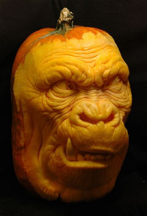 Where Did Carving Pumpkins Originated by Mind Blowing Pumpkin Carvings By Ray Villafane