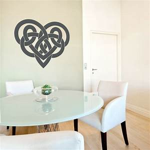 Celtic heart wall art decal wallums wall decor for Wallums wall decals