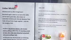 Nachbarn Schriftlich über Party Informieren : genialer partyaushang auf notes of berlin mit dieser antwort hat niemand gerechnet wohnen ~ Frokenaadalensverden.com Haus und Dekorationen