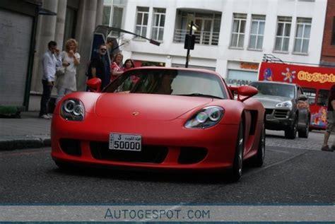 porsche matte red red matte porsche carrera gt news top speed