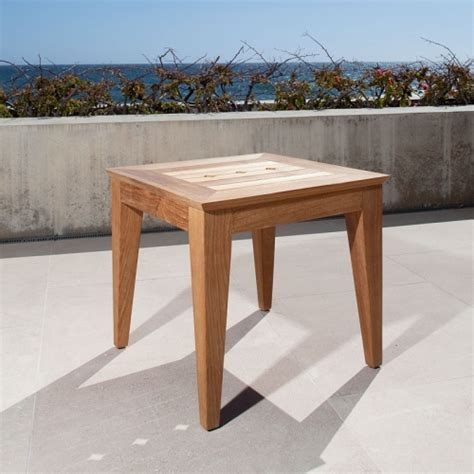 craftsman teak side table westminster teak