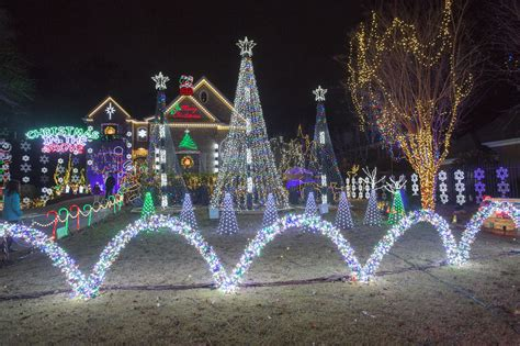 joe pool christmas lights in the grove decatur ga from the most amazing light displays in america