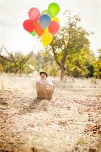Balloon 1st Birthday Photo Shoot
