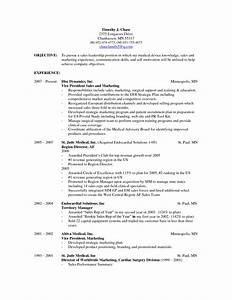 sales resume objective statement examples examples of With career objective for resume