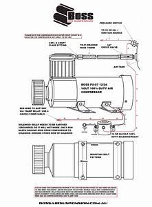Air Compressor 12 Volt Solenoid Wiring Diagram