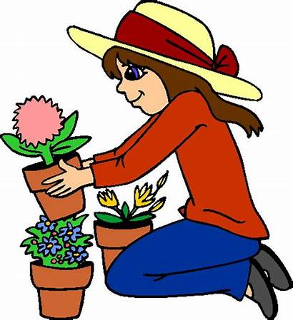 Gardening Clipart Clip Garden Gardener Gardner Cliparts