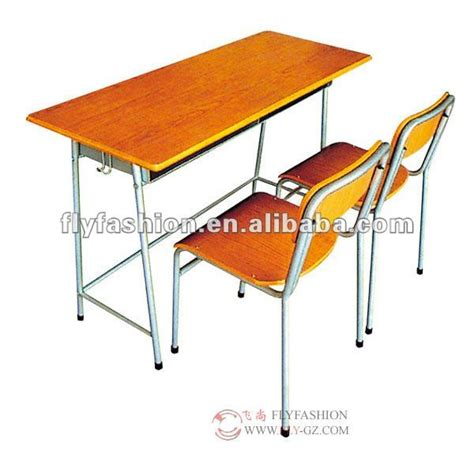 school desk with attached chair antique student desk