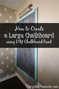 how to use chalkboard paint Make a Giant Chalkboard | MountainModernLife.com