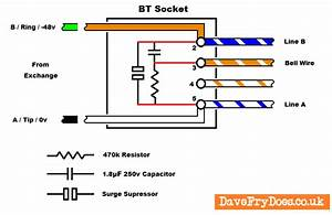 Bt Nte5 Master Socket Wiring Diagram