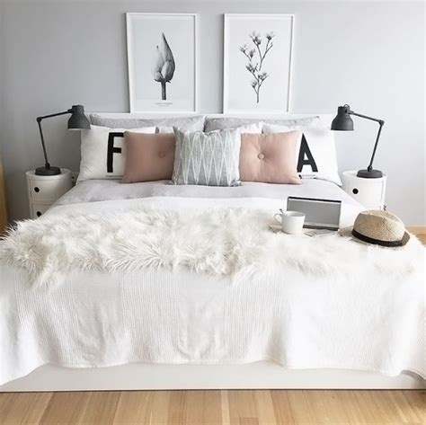 gray white and pink bedroom 25 best ideas about white grey bedrooms on pinterest 18822 | f8e405c7cee6665d1cc2ffb717433728