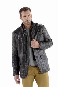 veste cuir homme bien choisir la coupe pour rester classe With veste cuir carreaux homme