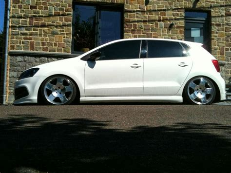 Modified Cars White Volkswagen Polo Modified