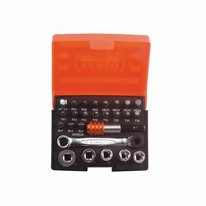 Socket Bahco Ratchet Bit Drive S26 2058