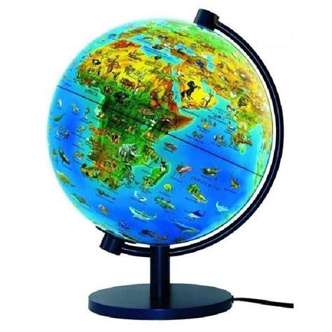 globe terrestre lumineux monde animal livret achat