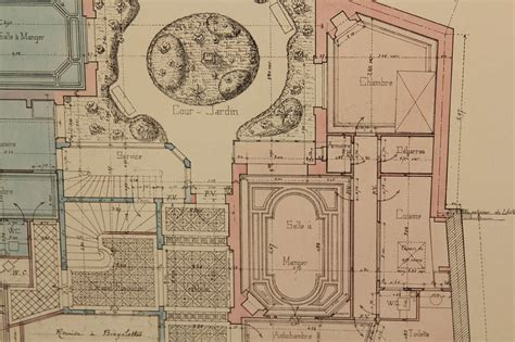 architectural blueprints for sale architectural drawings for sale at 1stdibs