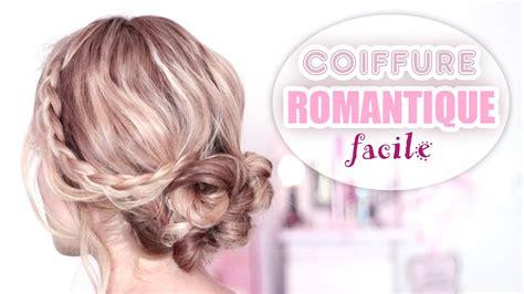 coiffure mariage facile a faire soi meme cheveux court chignon romantique rapide et facile 224 faire soi m 234 me tuto
