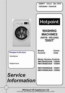 Hotpoint Nm11964gcauk Nm11964bcauk Nm11946wcauk Washing