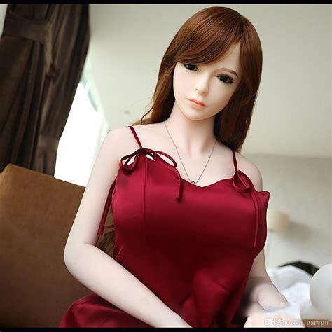 European Head Cm Big Breast Sex Doll Realistic Skin