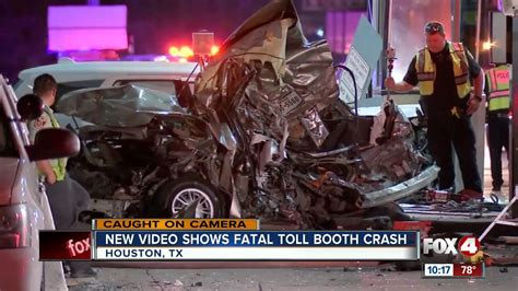 New Video Shows Deadly Toll Booth Crash Youtube