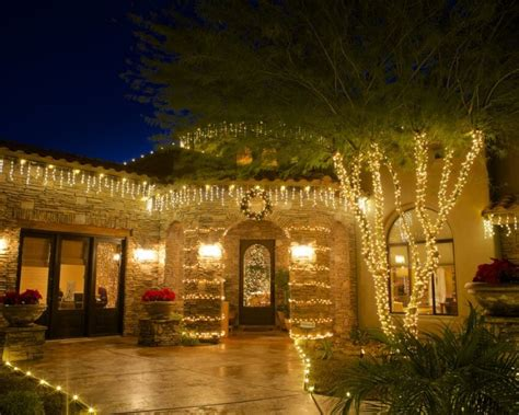 home christmas lights scottsdale arizona light installation in az we hang lights