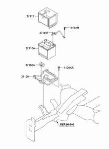 371801r100 - Hyundai Sensor Assembly