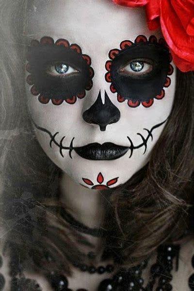 maquillaje de mujer   de muertos tips de madre