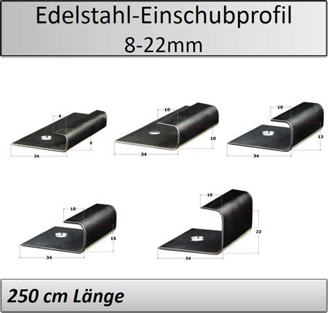 rigipsplatten 6 5 mm 8 22mm abschlussprofil endprofil edelstahl laminat parkett
