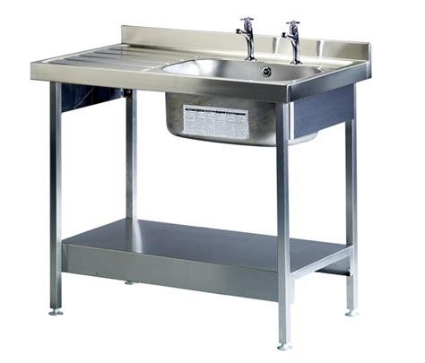 kitchen sink stand single bowl single drainer sink c w stand northern sink 2909